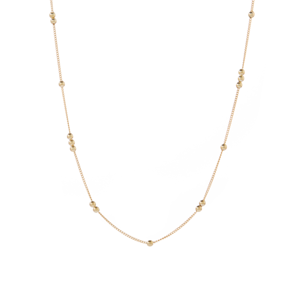 Robin gold necklace