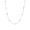 Robin rose gold necklace