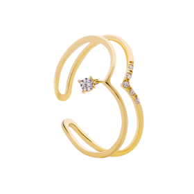 Vivi gold ring