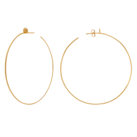 One gold earrings