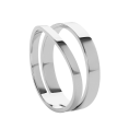 Wave silver ring 2