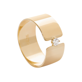 Cosmos gold ring