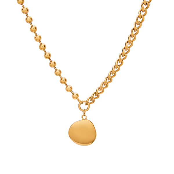Ariel gold necklace 2
