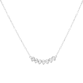 Astra silver necklace