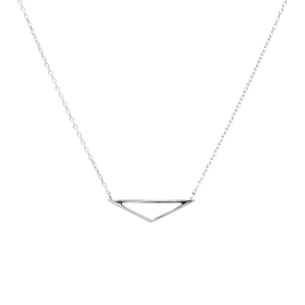 Isos silver necklace