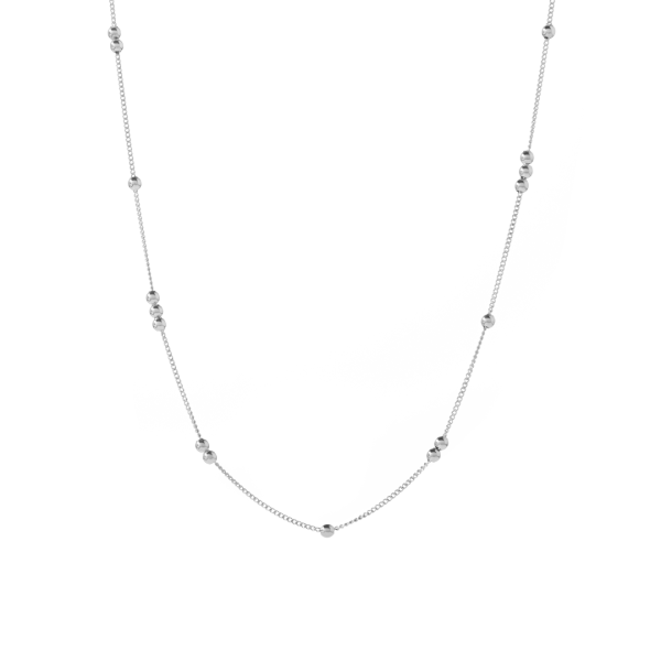 robin silver necklace