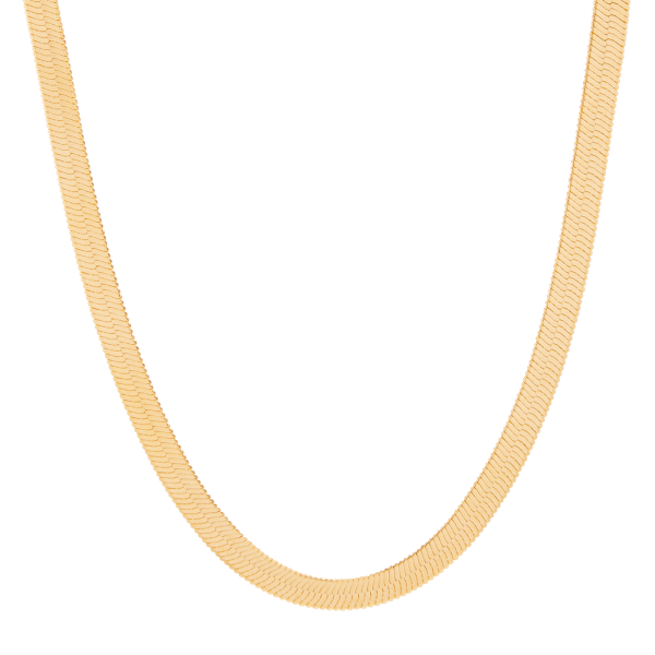 Python gold snake chain