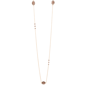 Smoky Long Gold necklace