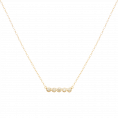 Camel gold necklace
