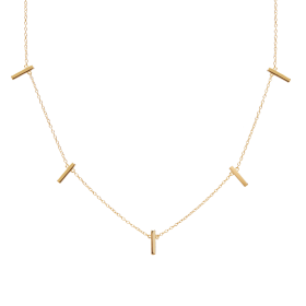 Kyara gold necklace
