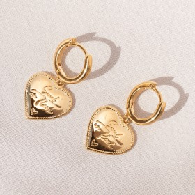Vintage heart earrings SOF