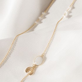 Collar largo Lunar Long Gold