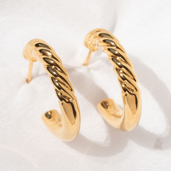 gold hoops Euphoria 7