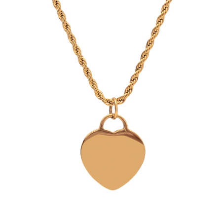 gold heart engraving