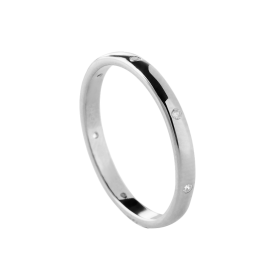Roy silver ring