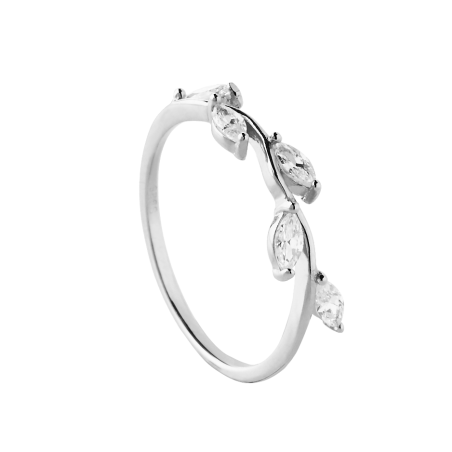 Belle silver ring