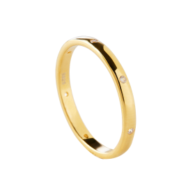 Roy gold ring